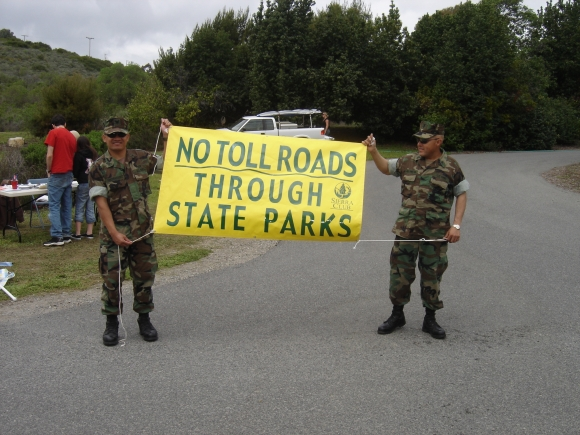 Toll road protest 2006